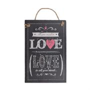 All You Need Is Love Slate Plaque